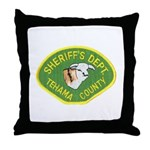 Tehama County Sheriff Throw Pillow