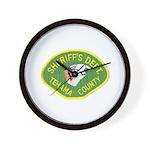 Tehama County Sheriff Wall Clock