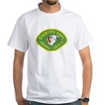 Tehama County Sheriff White T-Shirt