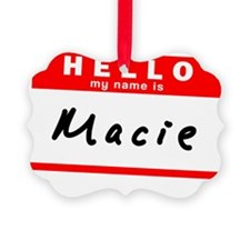 Macie Ornament