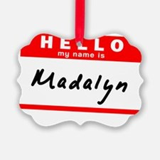Madalyn Ornament