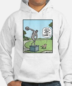 Dog Discus thrower Hoodie