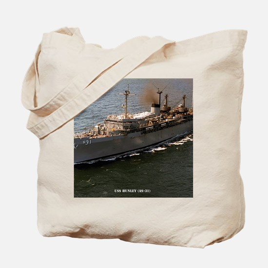 hunley framed panel print Tote Bag