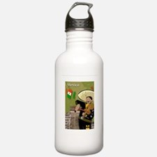 MexicoCard1 Water Bottle