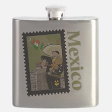 Mexico-Shirt Flask