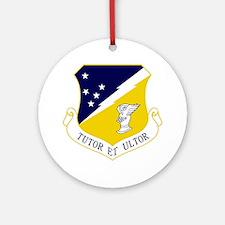 49th FW - Tutor Et Ultor Round Ornament