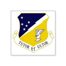 "49th FW - Tutor Et Ultor Square Sticker 3"" x 3"""