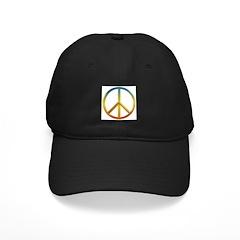 Rainbow Peace Sign Baseball Hat