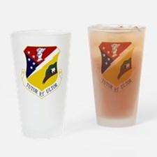 49th FW - Tutor Et Ultor - Old Vers Drinking Glass