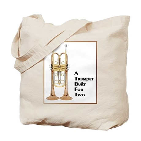 A Trumpet Built For Two Tote Bag