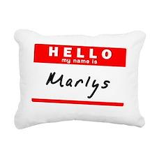 Marlys Rectangular Canvas Pillow