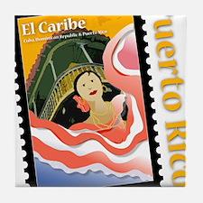 Caribe-PR-Shirt Tile Coaster