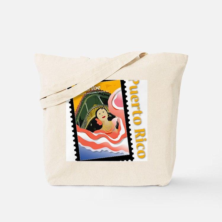 Caribe-PR-Shirt Tote Bag