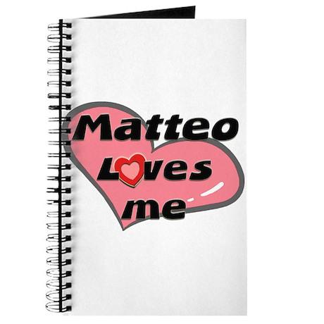 matteo loves me Journal