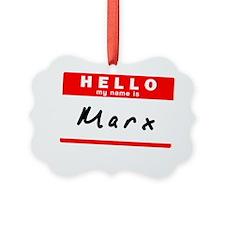 Marx Ornament