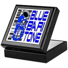 Blue Baritone dk Keepsake Box
