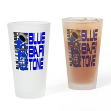 Blue Baritone dk Drinking Glass