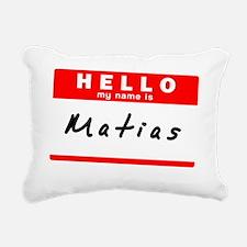 Matias Rectangular Canvas Pillow