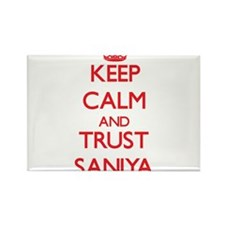 Keep Calm and TRUST Saniya Magnets