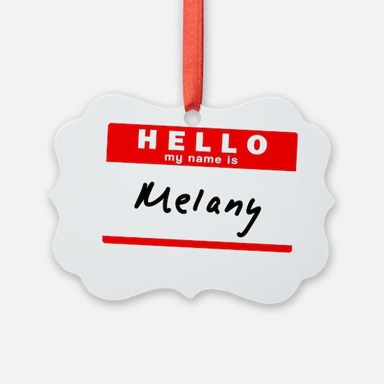 Melany Ornament