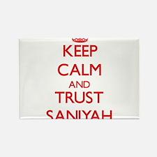 Keep Calm and TRUST Saniyah Magnets