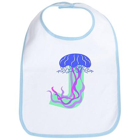 J is for Jellyfish Bib