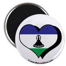 """I Love Lesotho 2.25"""" Magnet (100 pack)"""