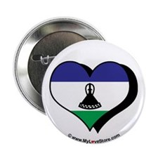"I Love Lesotho 2.25"" Button (100 pack)"