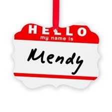 Mendy Ornament