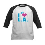 I Love (Heart) L.A. Kids Baseball Jersey