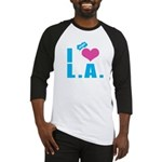 I Love (Heart) L.A. Baseball Jersey