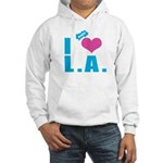 I Love (Heart) L.A. Hooded Sweatshirt