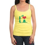 I Love (Heart) L.A. Jr. Spaghetti Tank