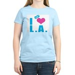 I Love (Heart) L.A. Women's Light T-Shirt