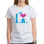 I Love (Heart) L.A. Women's T-Shirt