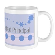 retired principal blanket blue grey Mug