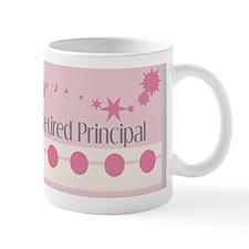 Retired Principal blanket  pink grey Mug