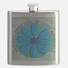 RETIRED PRINCIPAL BLANKET Flask