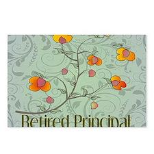 retired principal vines 2 Postcards (Package of 8)