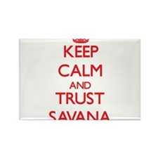 Keep Calm and TRUST Savana Magnets