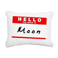 Moon Rectangular Canvas Pillow