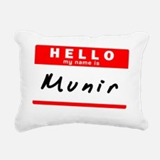 Munir Rectangular Canvas Pillow