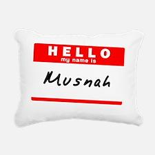 Musnah Rectangular Canvas Pillow