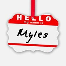 Myles Ornament