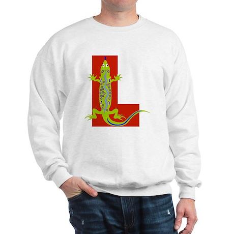 L is for Lizard Sweatshirt