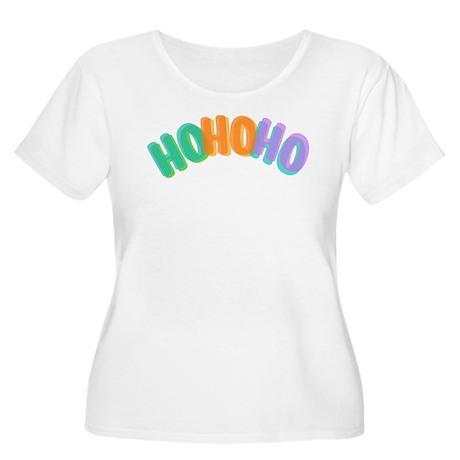 Ho Ho Ho Plus Size T-Shirt