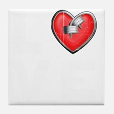 LOVE--W Tile Coaster