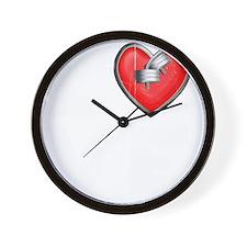 LOVE--W Wall Clock