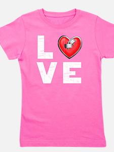 LOVE--W Girl's Tee