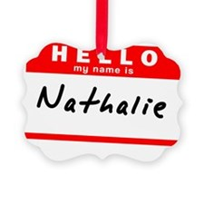 Nathalie Ornament